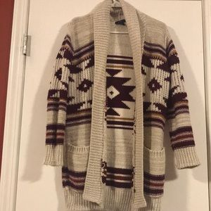 Knitted cardigan sweater from Forever 21
